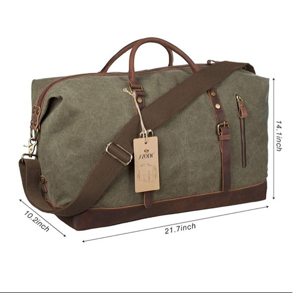 3b621dc40d S-ZONE Oversized Weekend Bag